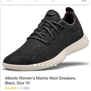 All birds grey marino wool sneakers